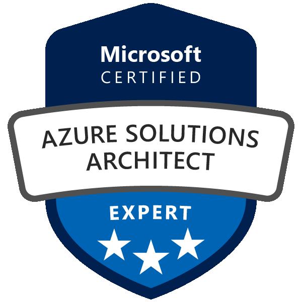 Logo Microsoft Certified Azure Solutions Expert